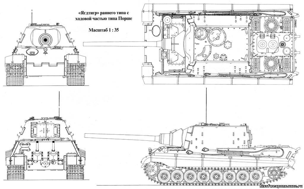Поэтому шасси танка «Тигр II»